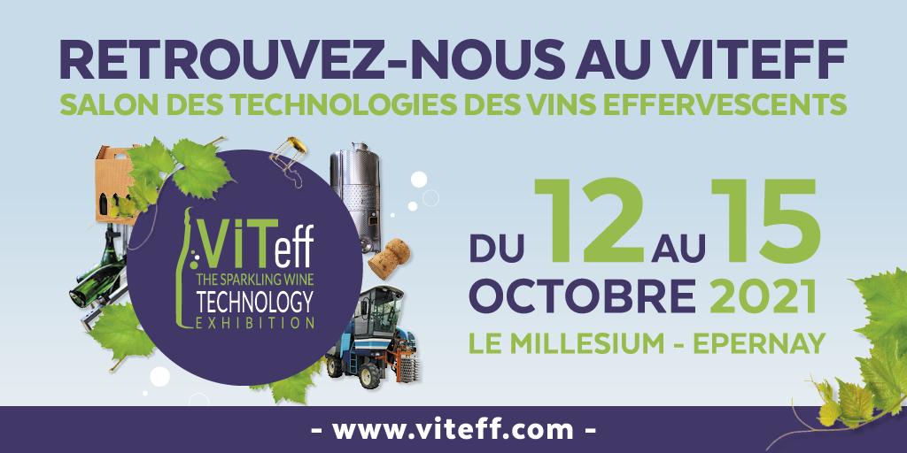 Participation au salon VITEFF 2021 à Epernay